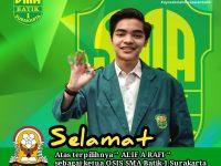 Pemilihan Ketua OSIS Virtual SMA Batik 1 Surakarta